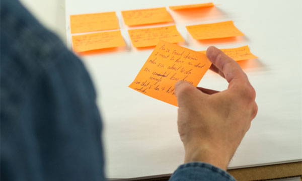 Story Mapping an Innovation Lab