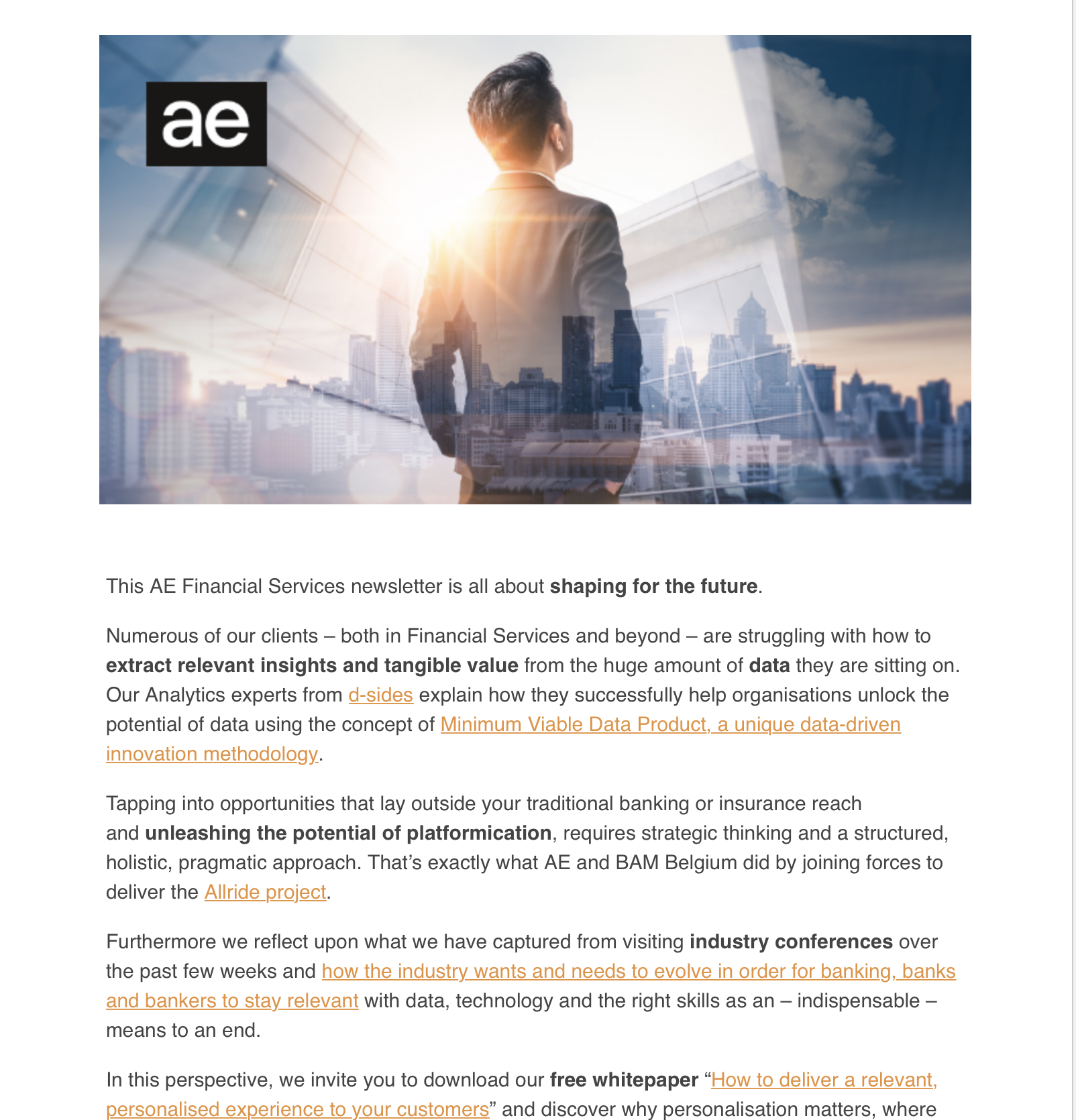 Financial Services Newsletter October 2019