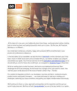 Financial Services Newsletter Januari 2019