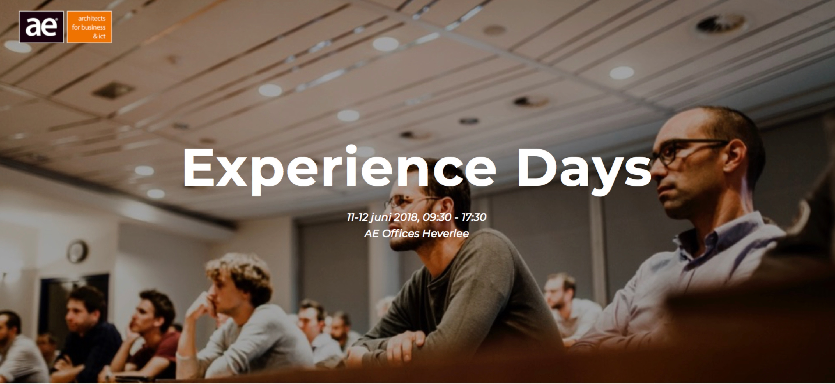 AE Opleiding Experience days