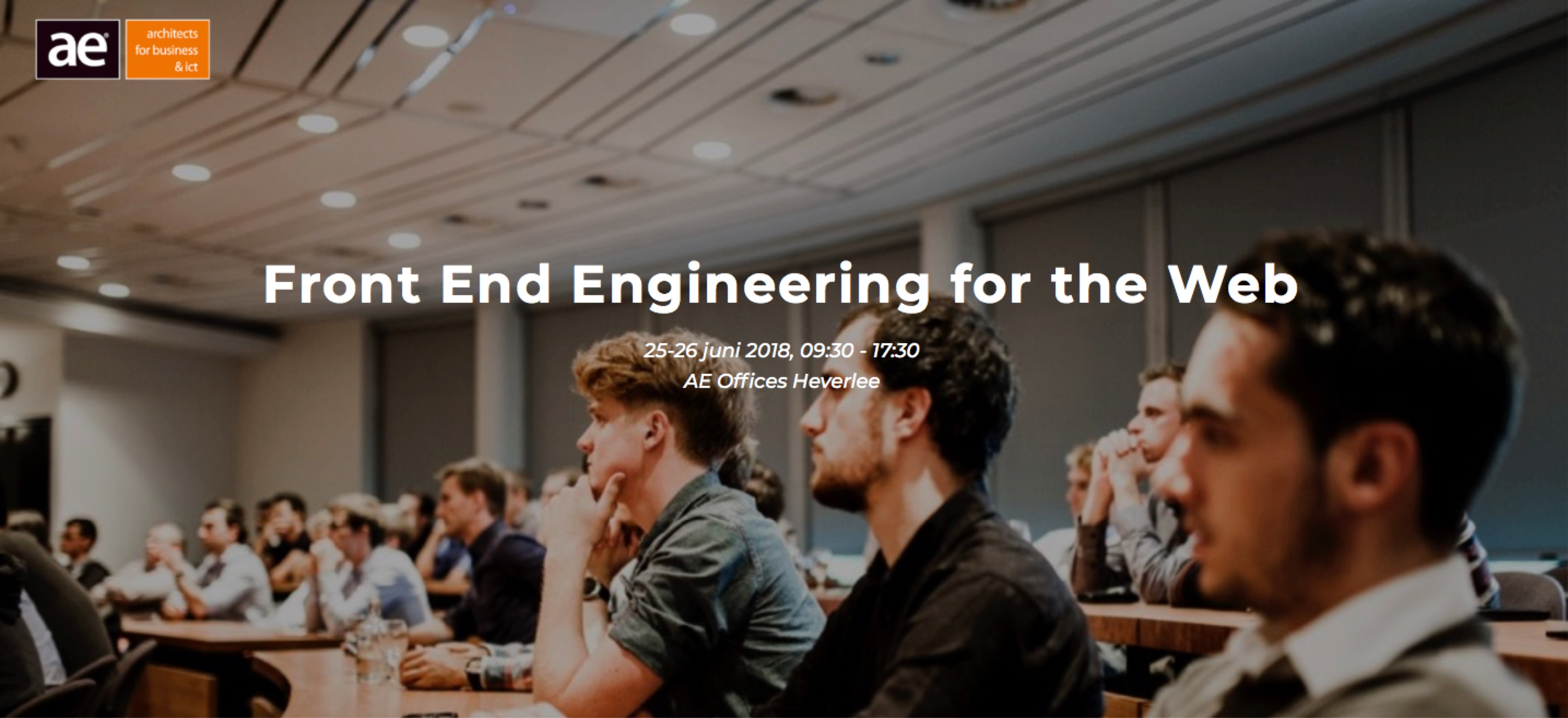 AE opleiding Front end Engineering for the web