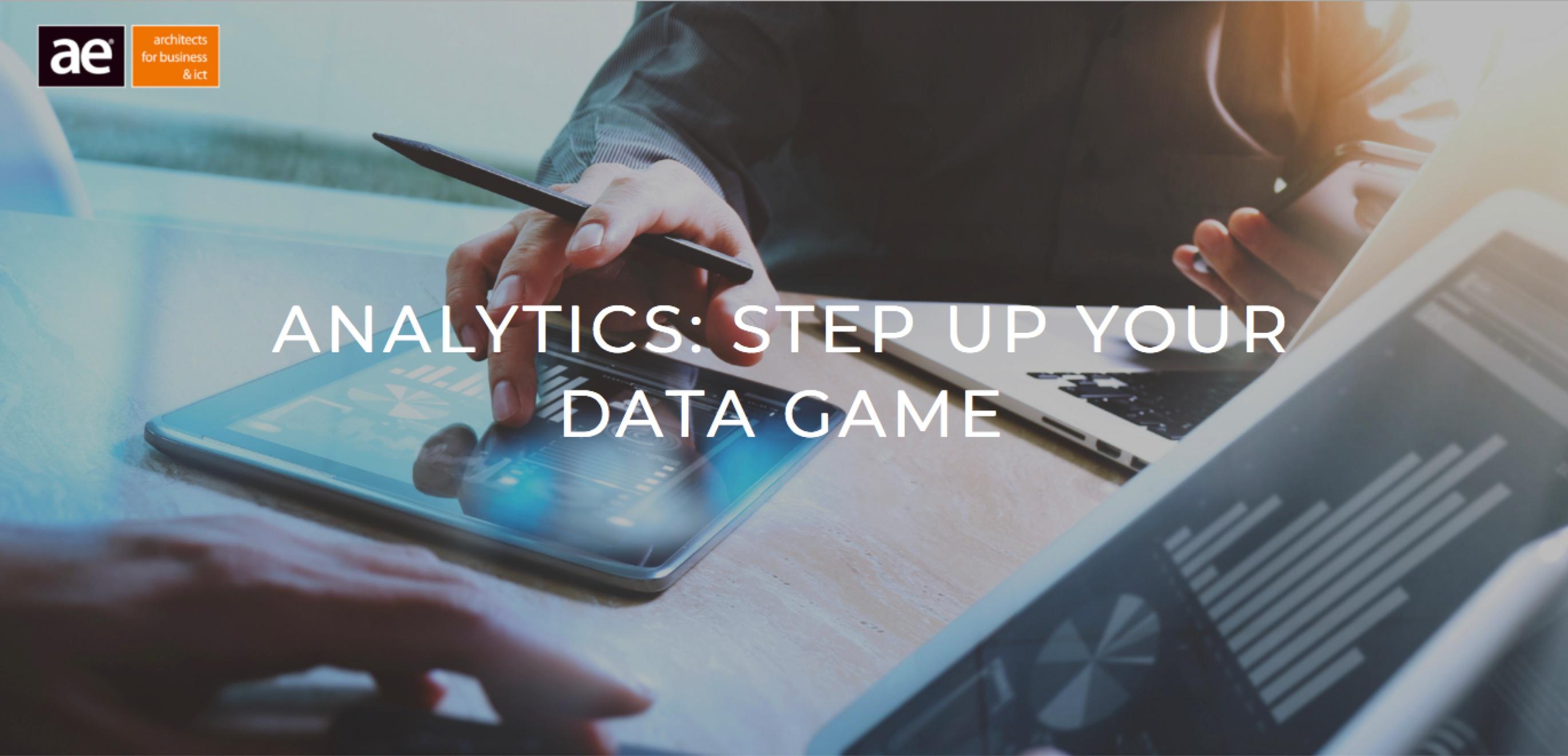 AE Foyer: Analytics Step up your Data Game