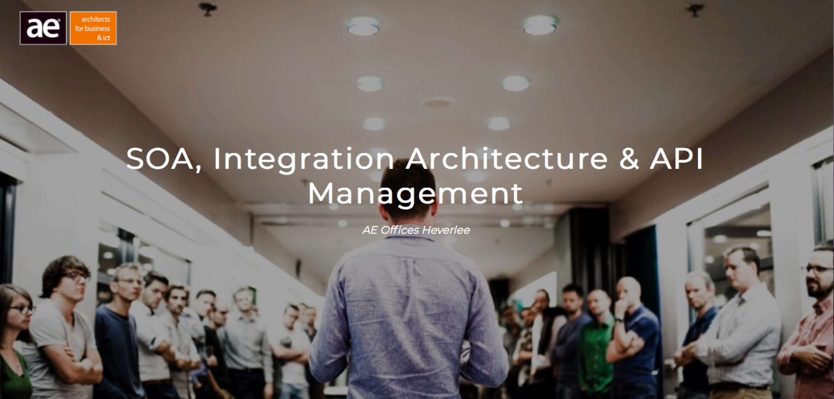 AE Training: SOA, Integration Architecture & API Management