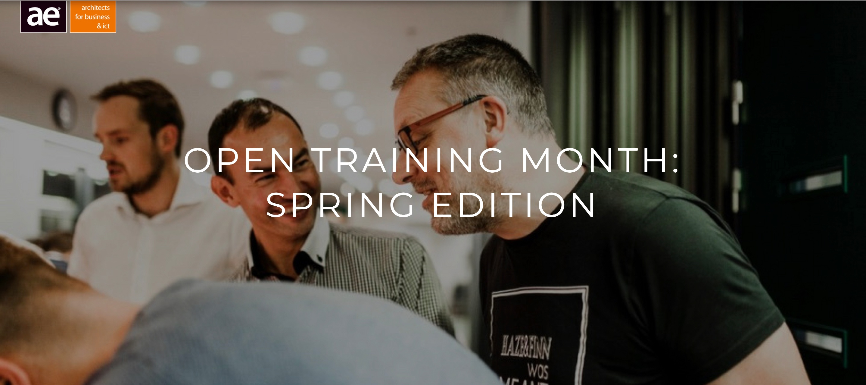 AE Training: Open Training Month Spring edition