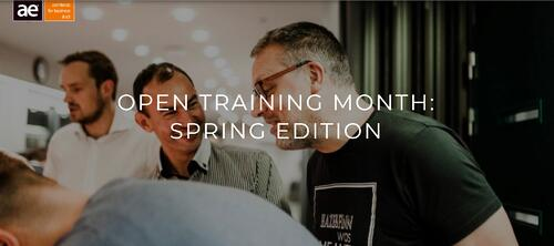 AE Event Open Training Month Spring Edition