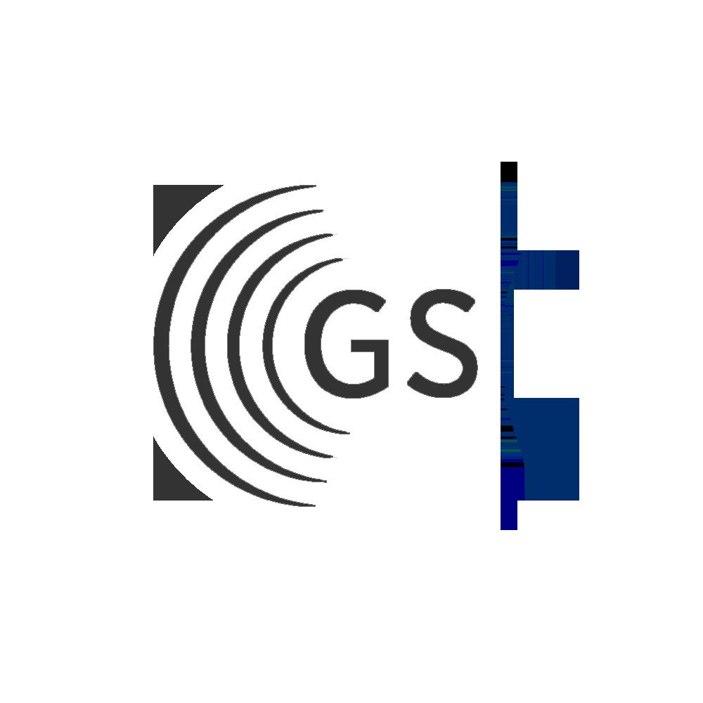GS1 Logo wit Grijs