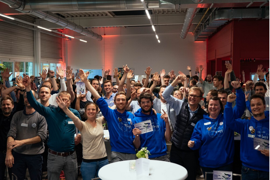 Hackathon 2019 Groepsfoto