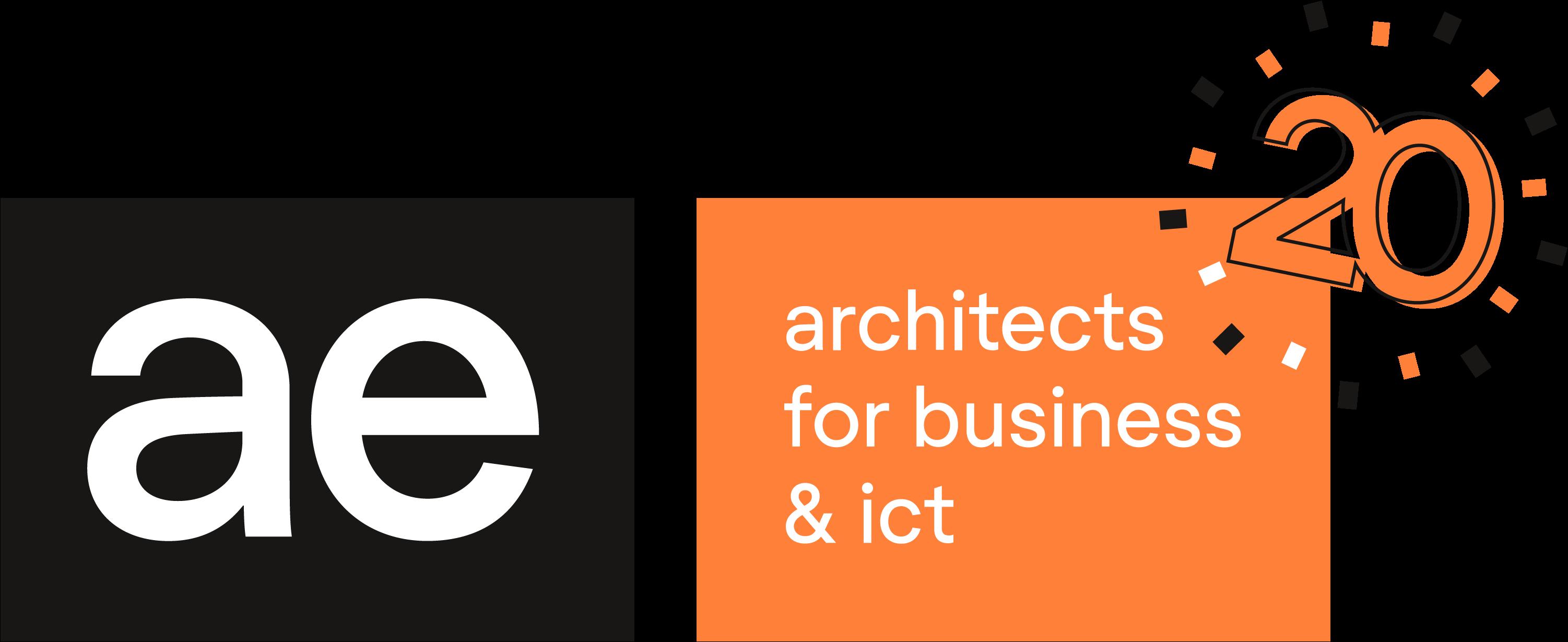 20 jaar AE logo