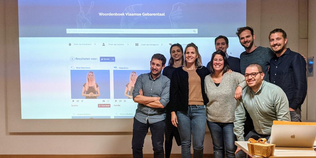 Launch Flemish Sign Language dictionary